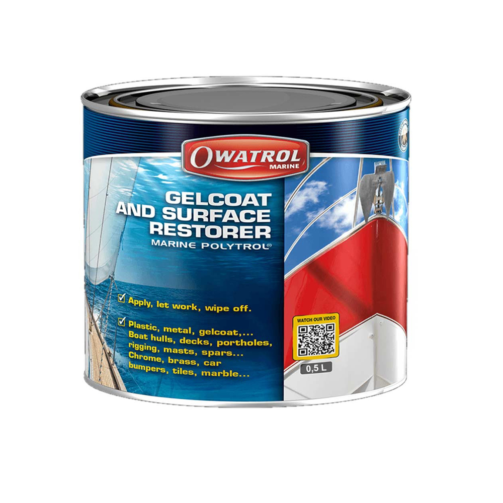 Gelcoat & Surface Colour Restorer (Polytrol) 500ml