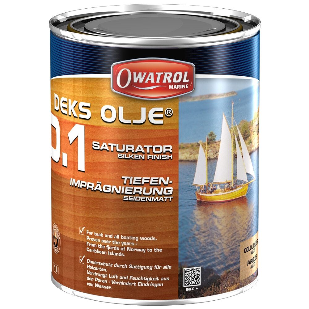 Deks Olje D1 Saturating Wood Oil 1Ltr
