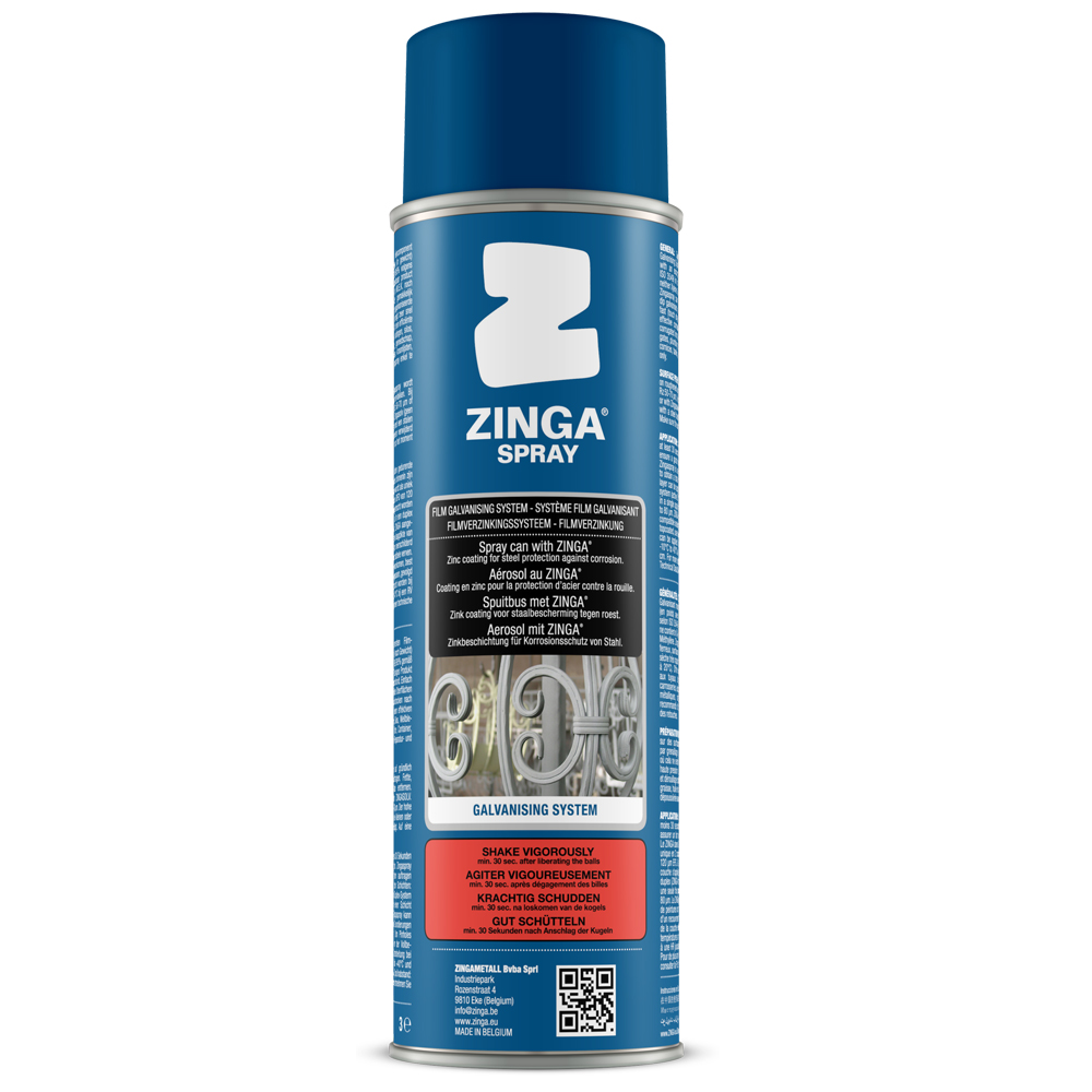 Zinga Galvanising Spray