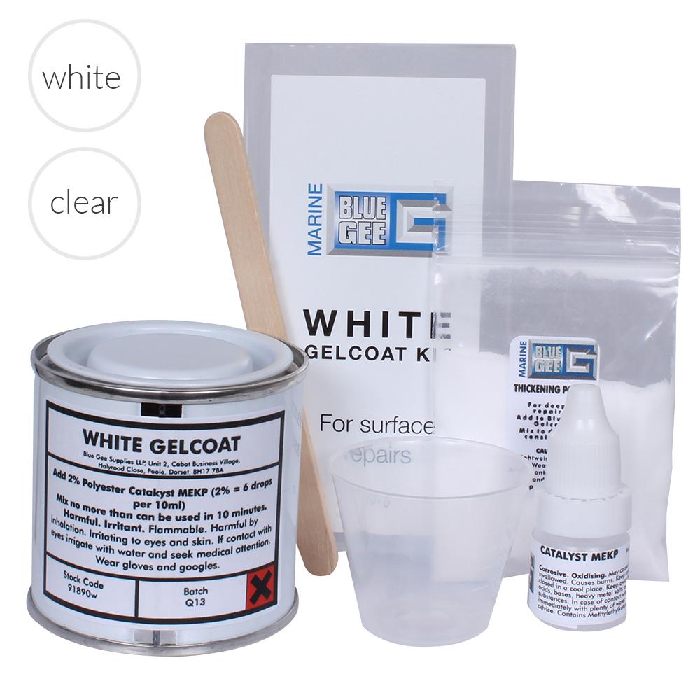 Clear Gelcoat Repair Pack 100ml