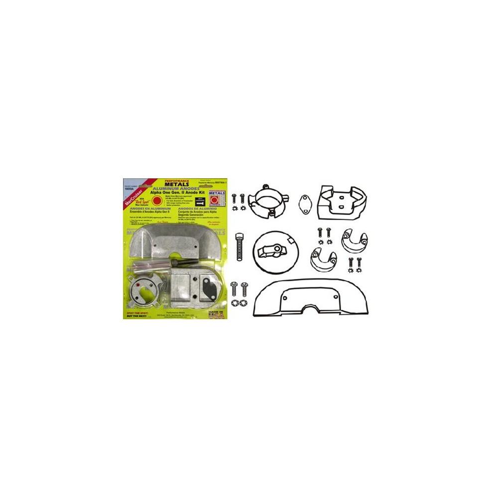 Engine Anode Kit w/Indicator Aluminium - Mercury Alpha 1 Gen 2