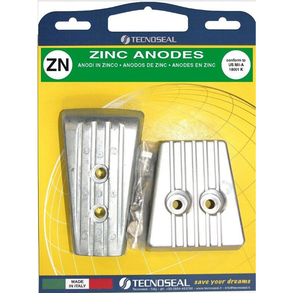 Engine Anode Kit Zinc - Volvo SXA/DPS