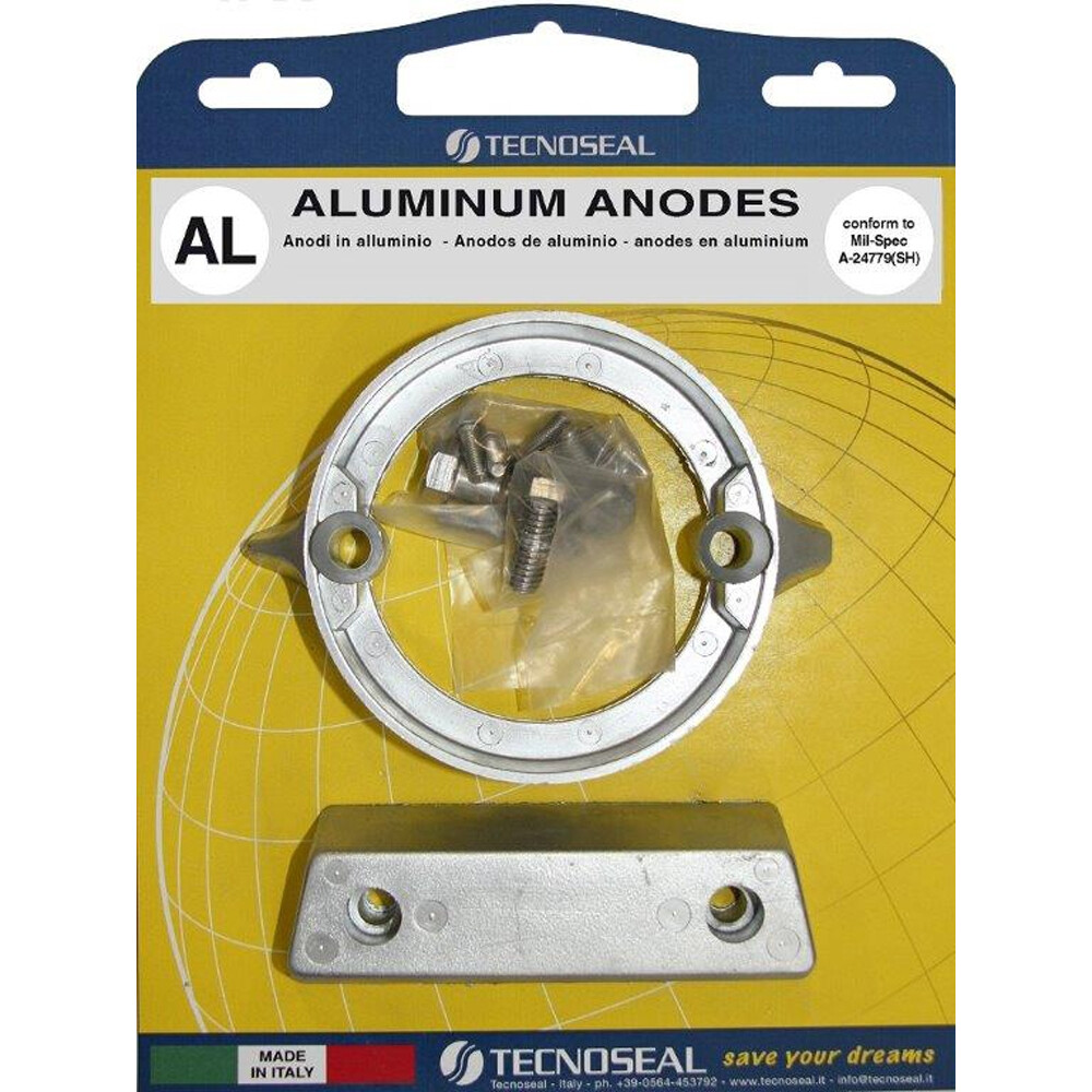 Engine Anode Kit Aluminium - Volvo 290DP