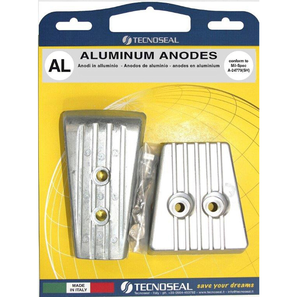 Engine Anode Kit Aluminium - Volvo SXA/DPS