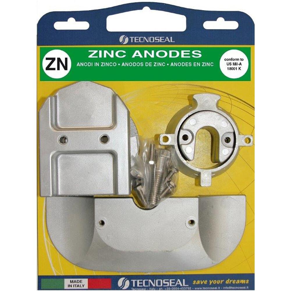 Engine Anode Kit Zinc - Mercury Bravo Alpha 1 Gen 2