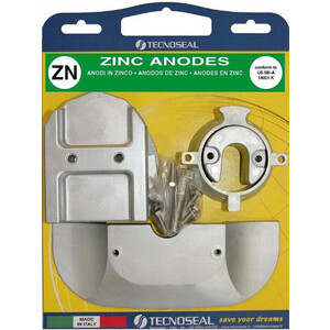 Engine Anode Kit Zinc - Mercury Bravo Alpha 1 Gen 2