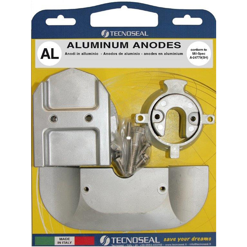 Engine Anode Kit Aluminium - Mercury Bravo Alpha 1 Gen 2