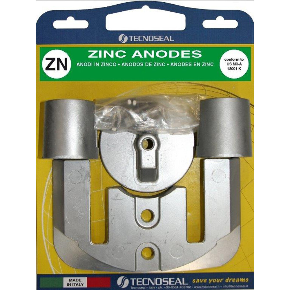 Engine Anode Kit Zinc - Mercury Bravo 2 & 3