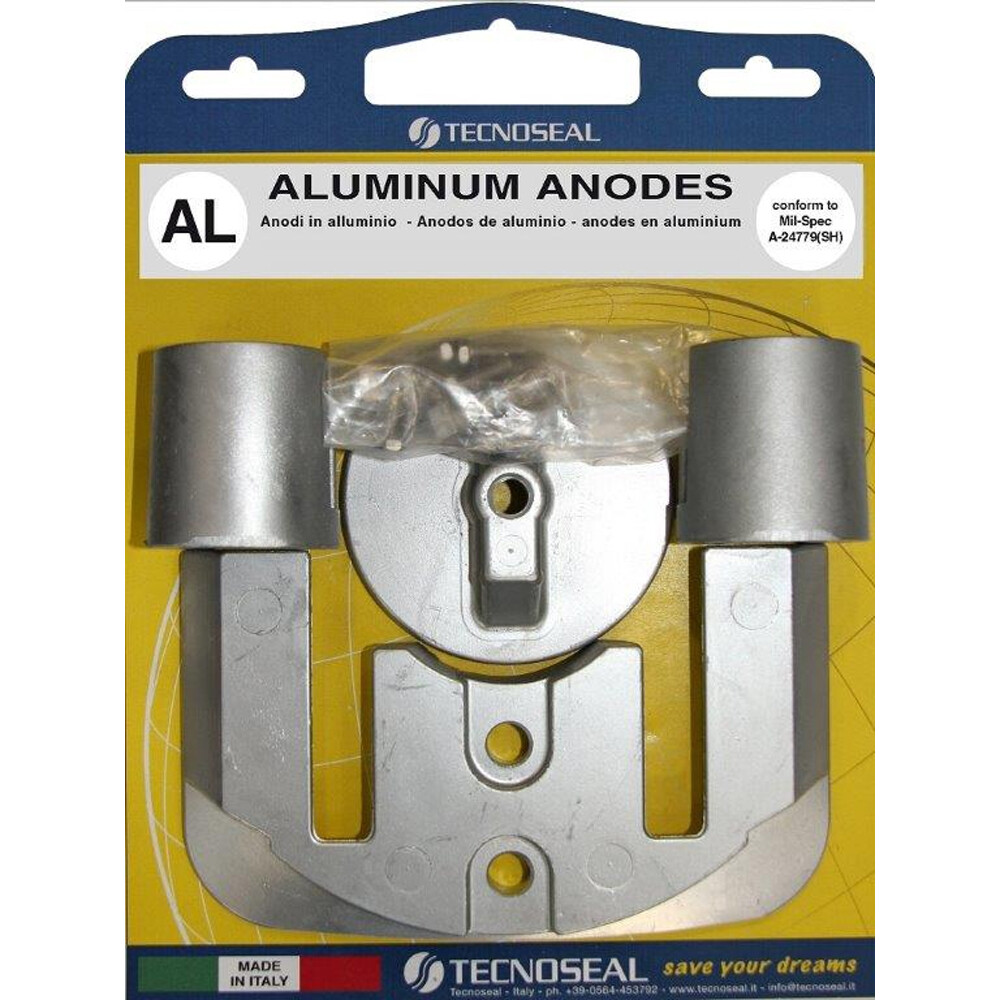 Engine Anode Kit Aluminium - Mercury Bravo 2/3