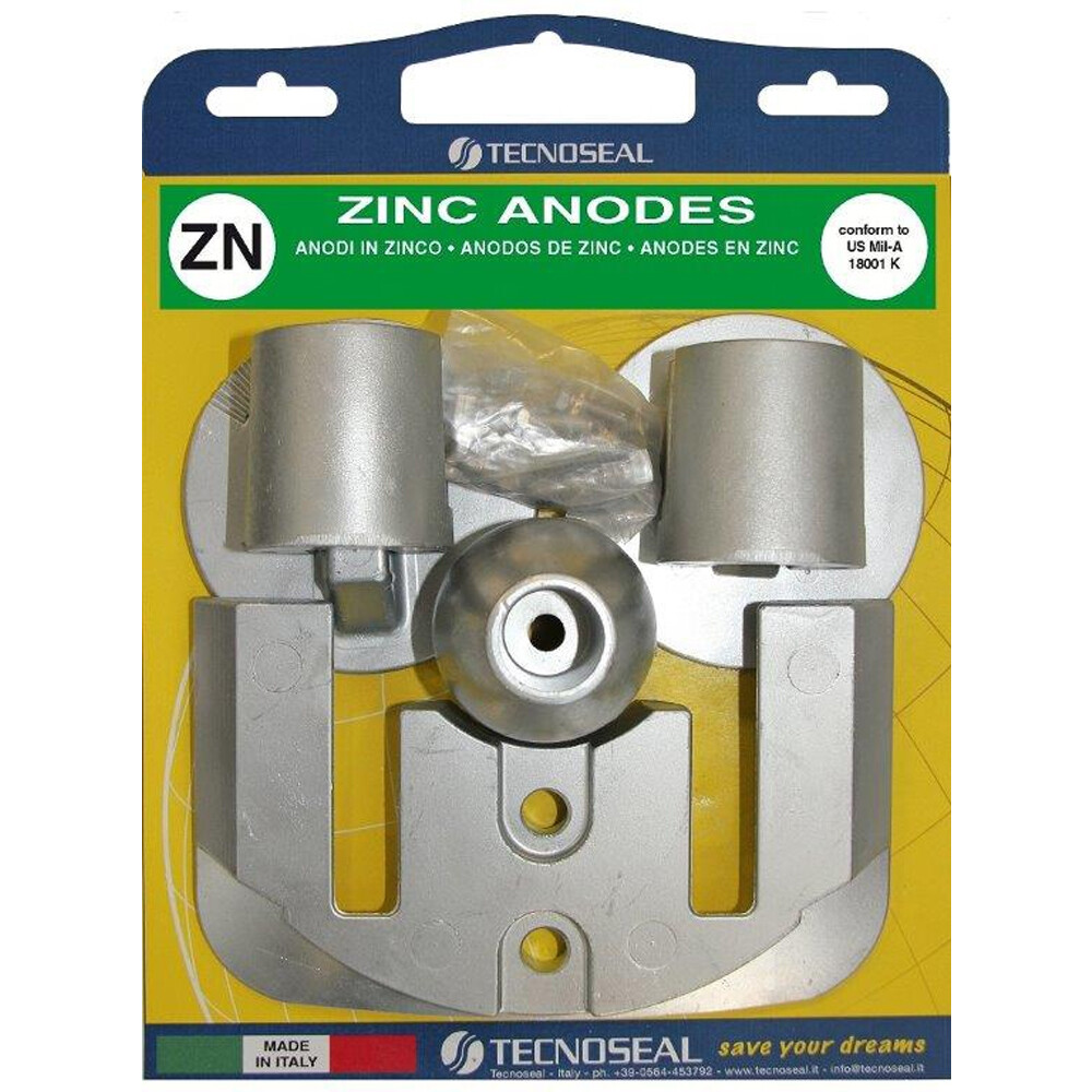 Engine Anode Kit Zinc - Mercury Bravo 3 (2004-Present)