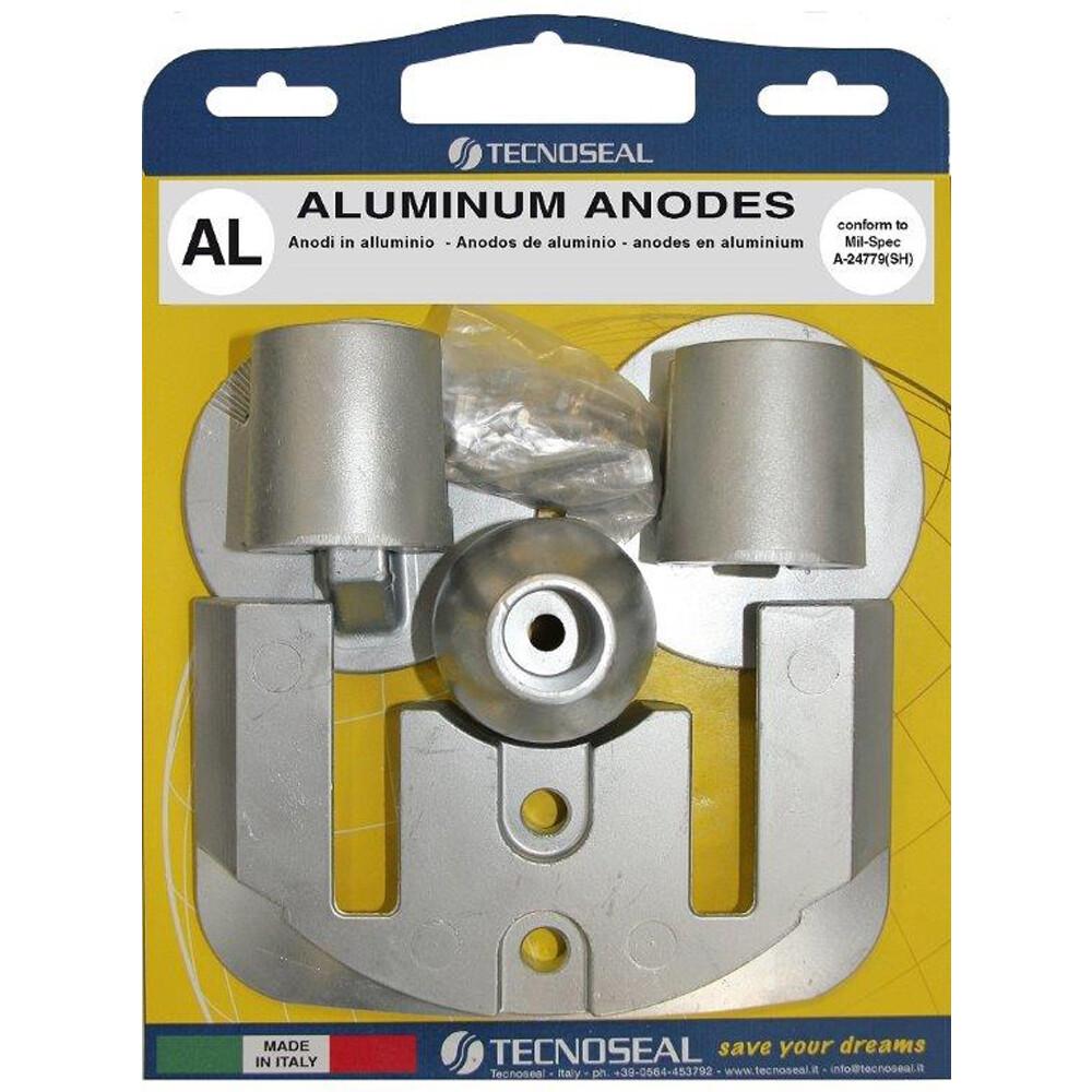 Engine Anode Kit Aluminium - Mercury Bravo 3 (2004)