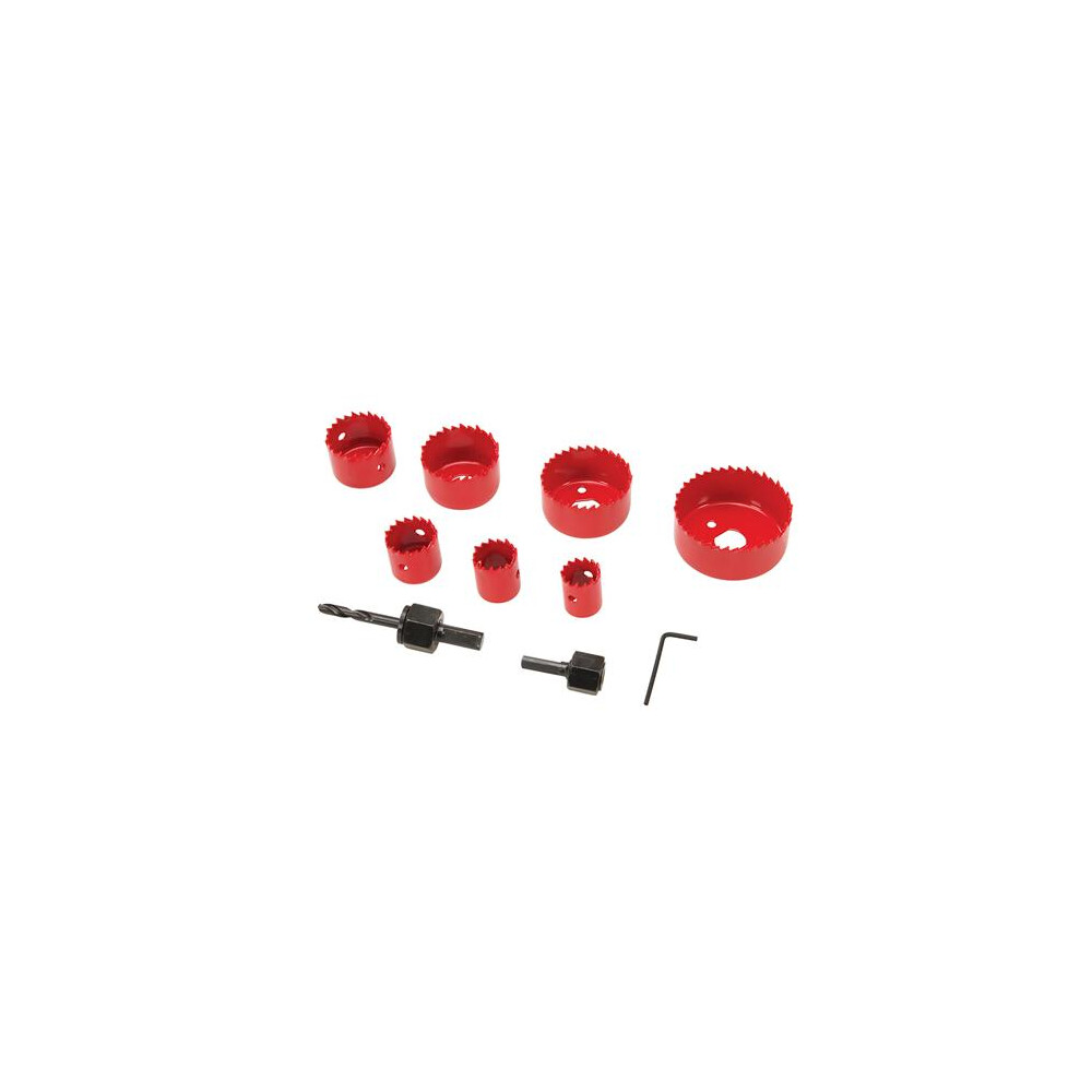 10 piece Holesaw Set