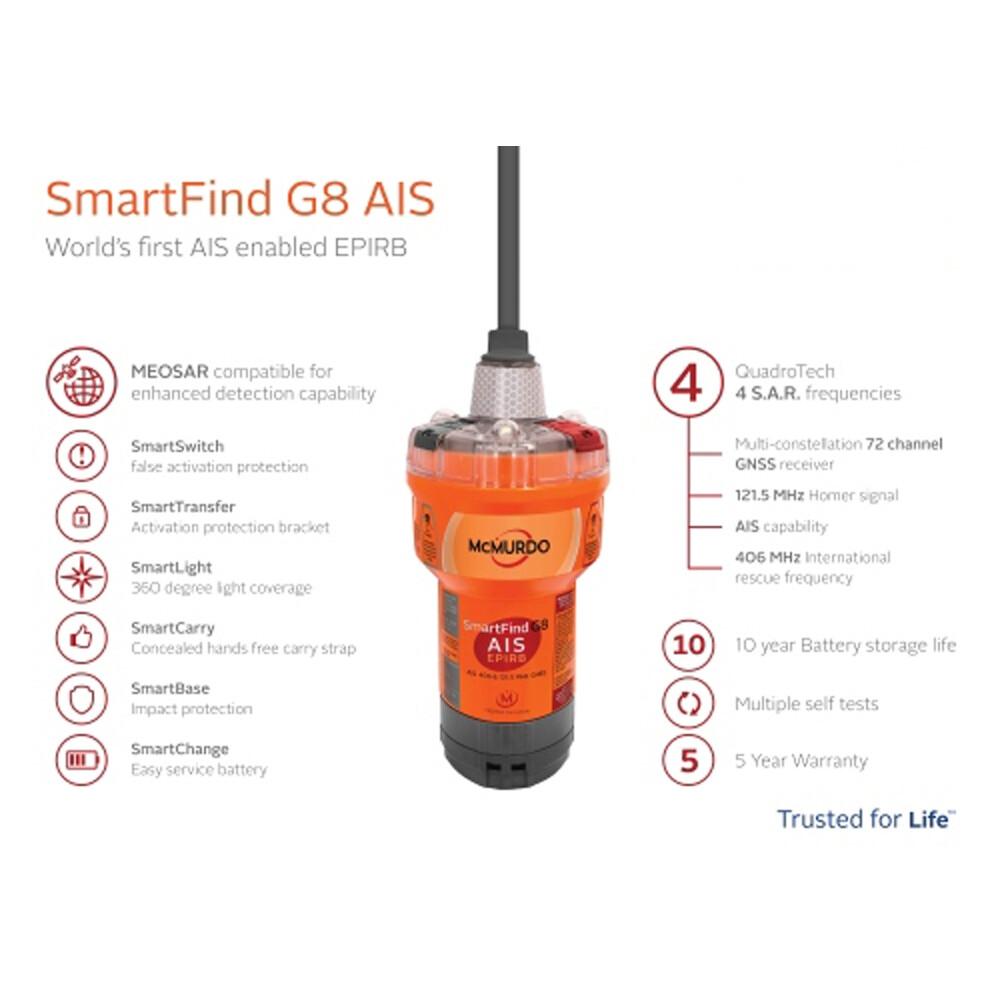 G8 EPIRB/AIS Smartfind