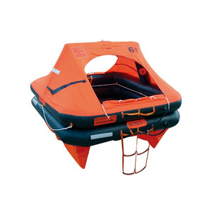 Ocean Charter ISO Liferaft 10man Canister