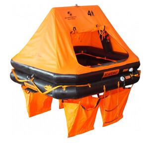 Ocean Standard Liferaft 4-Man Cannister