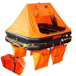 Ocean Standard Liferaft 4-Man Valise