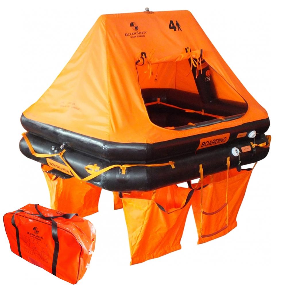 Ocean Standard Liferaft 6-Man Valise
