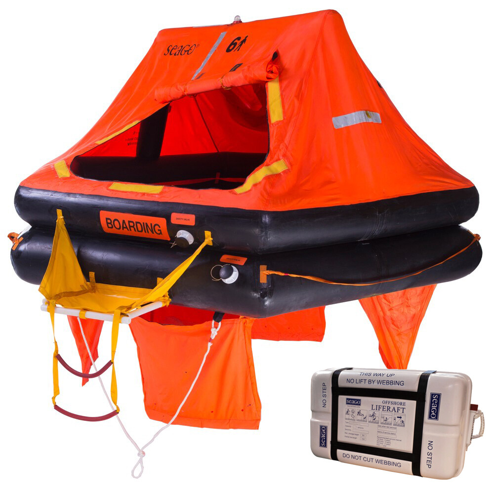 Sea Master ISO9650-1 Liferaft - Canister