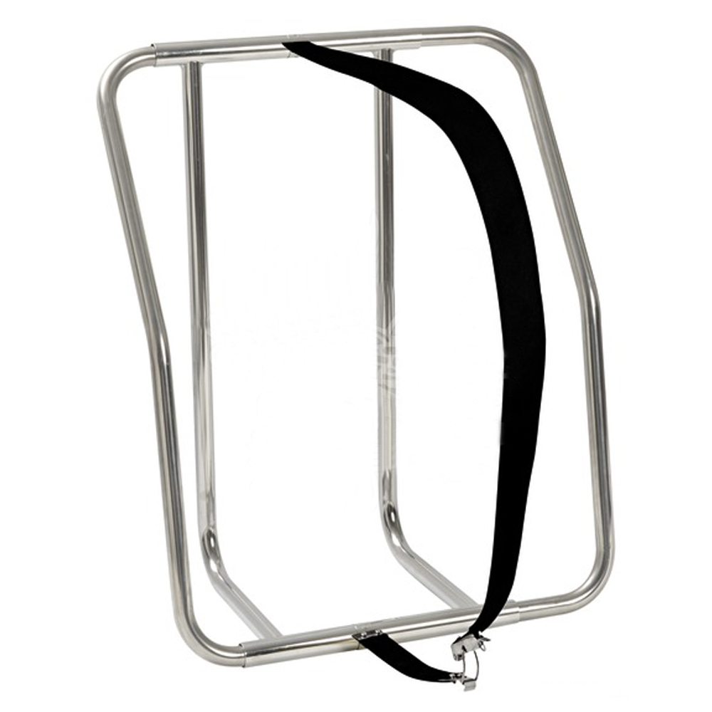 Liferaft Cradle - Vertical Stainless Steel