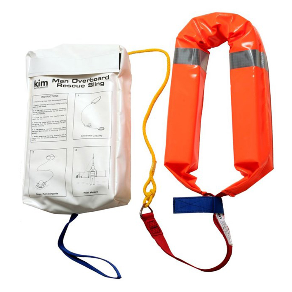 Man Overboard Rescue Sling  - White