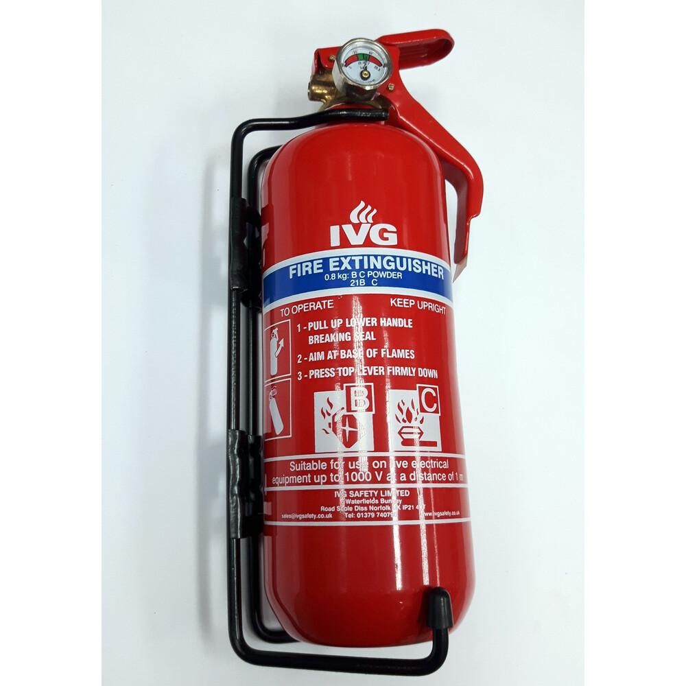 0.8kg BC Dry Powder Fire Extinguisher