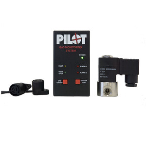 Gas Monitoring Alarm & Control System