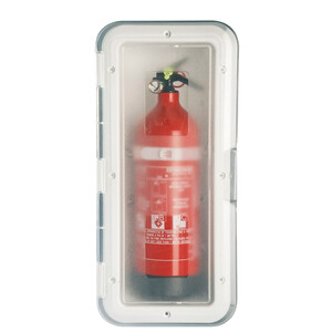 Fire Extinguisher Storage Case With Transparent Door
