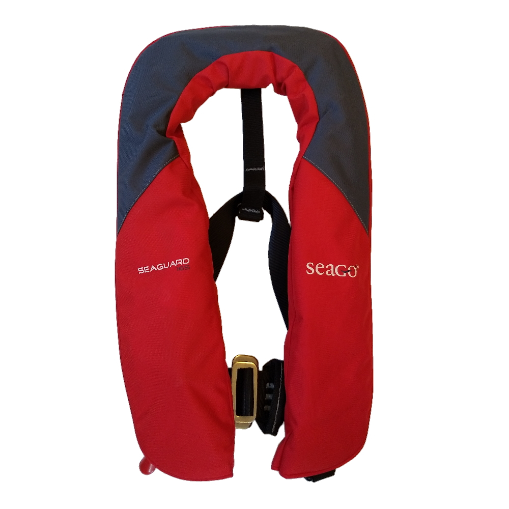Seaguard 165N Automatic Harness Lifejacket Red&Grey