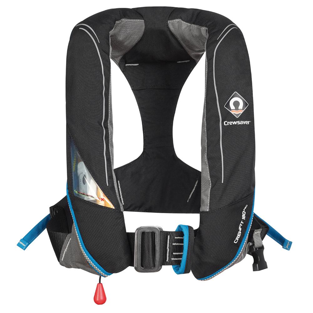 Crewfit 180 Pro Auto Harness - Black