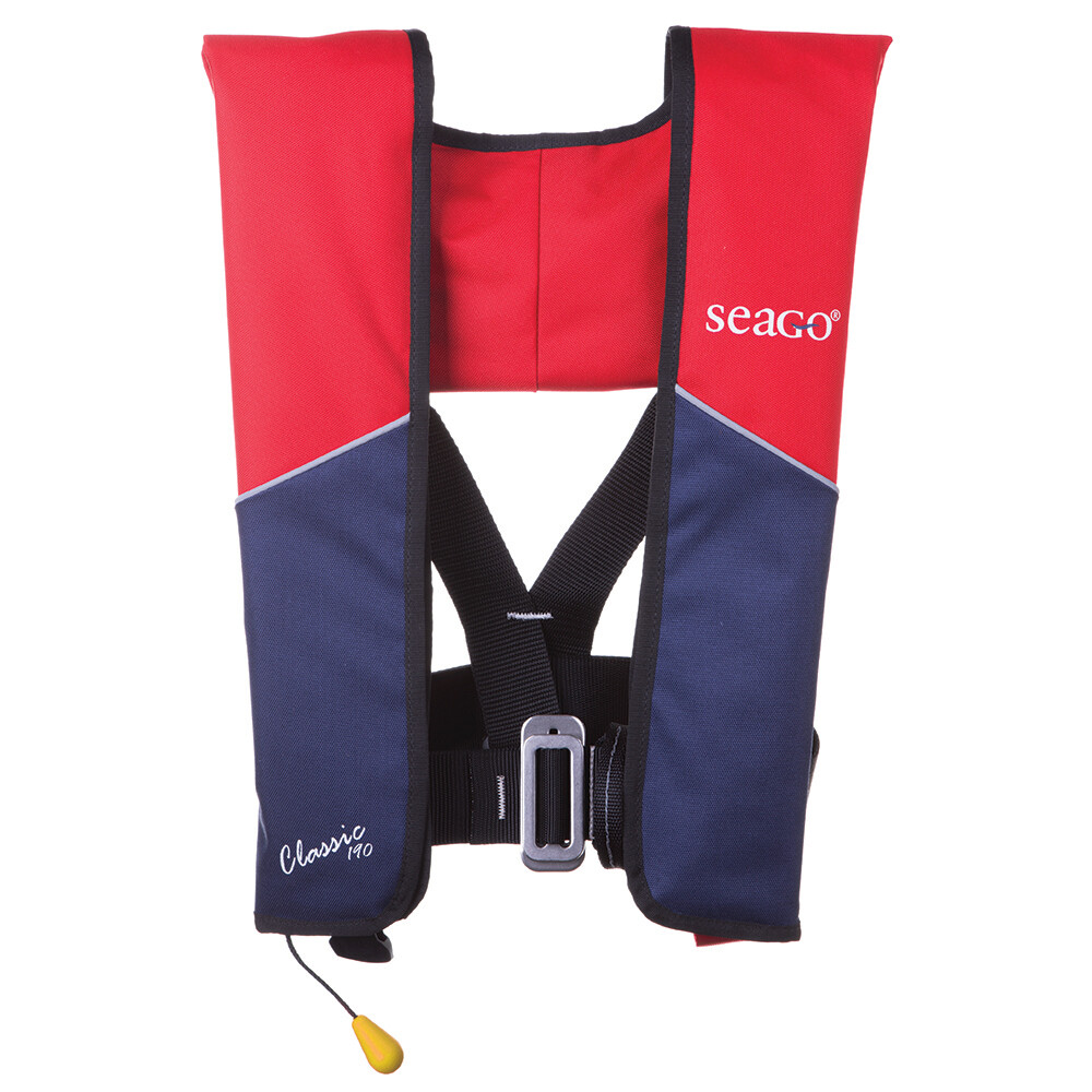 Classic 190 Lifejacket Manual + Harness