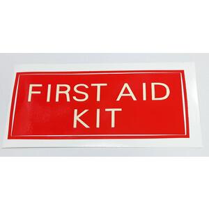 Luminous First Aid Kit Sticker