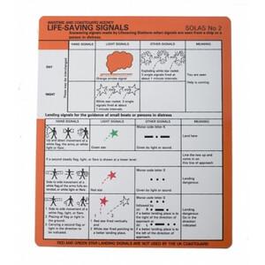 SOLAS No.2 Card