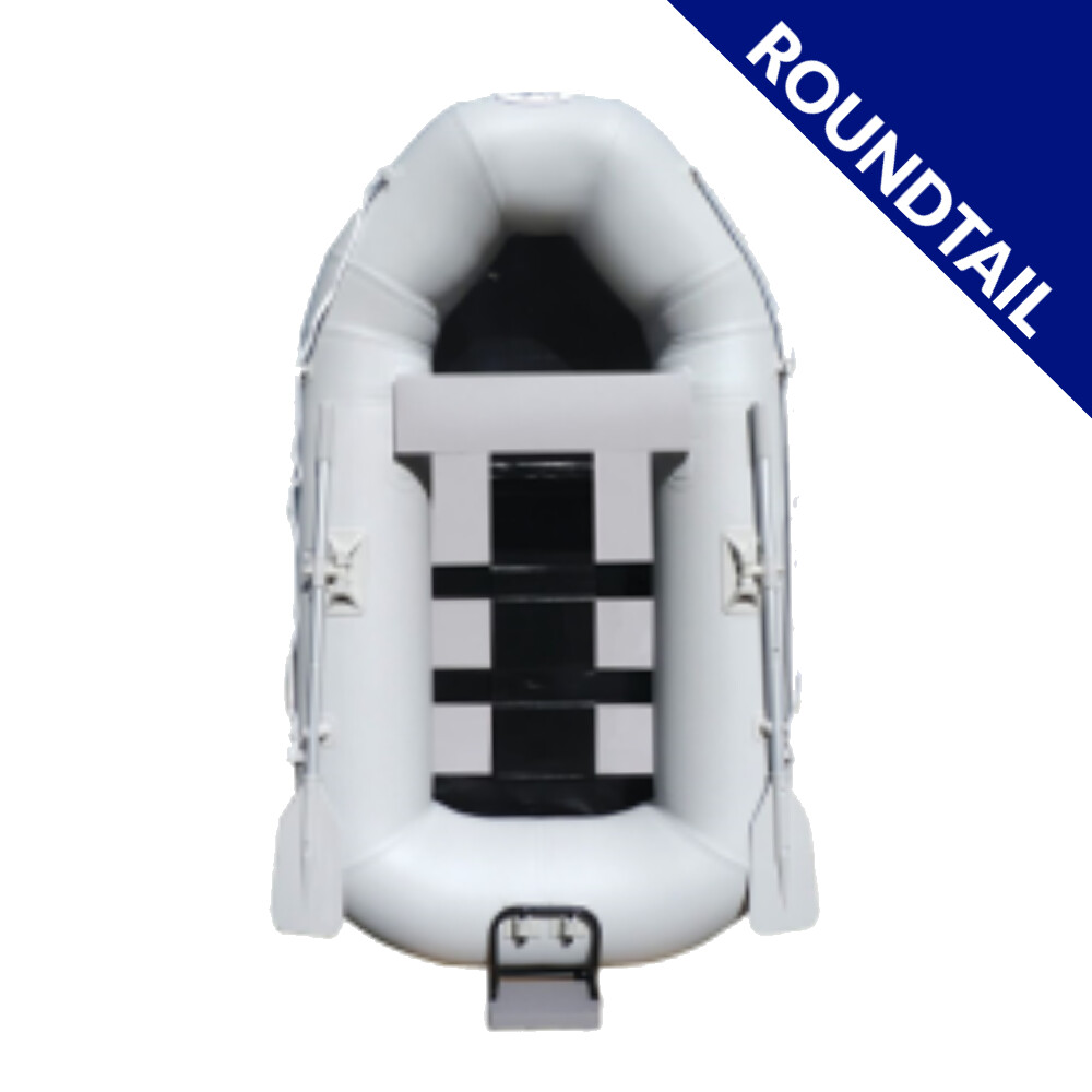 230 Roundtail Inflatable Dinghy - Slatted Floor