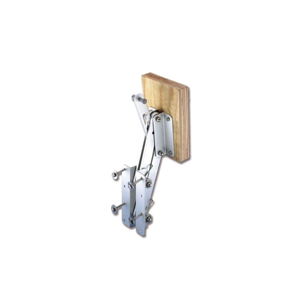 Aluminium Outboard Motor Bracket - Wood Pad - upto 6HP