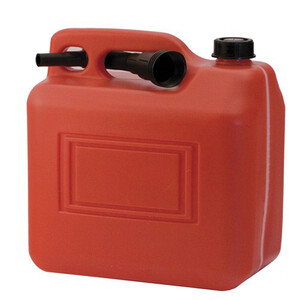 Plastic Fuel Jerry Can with Spout 20Ltr