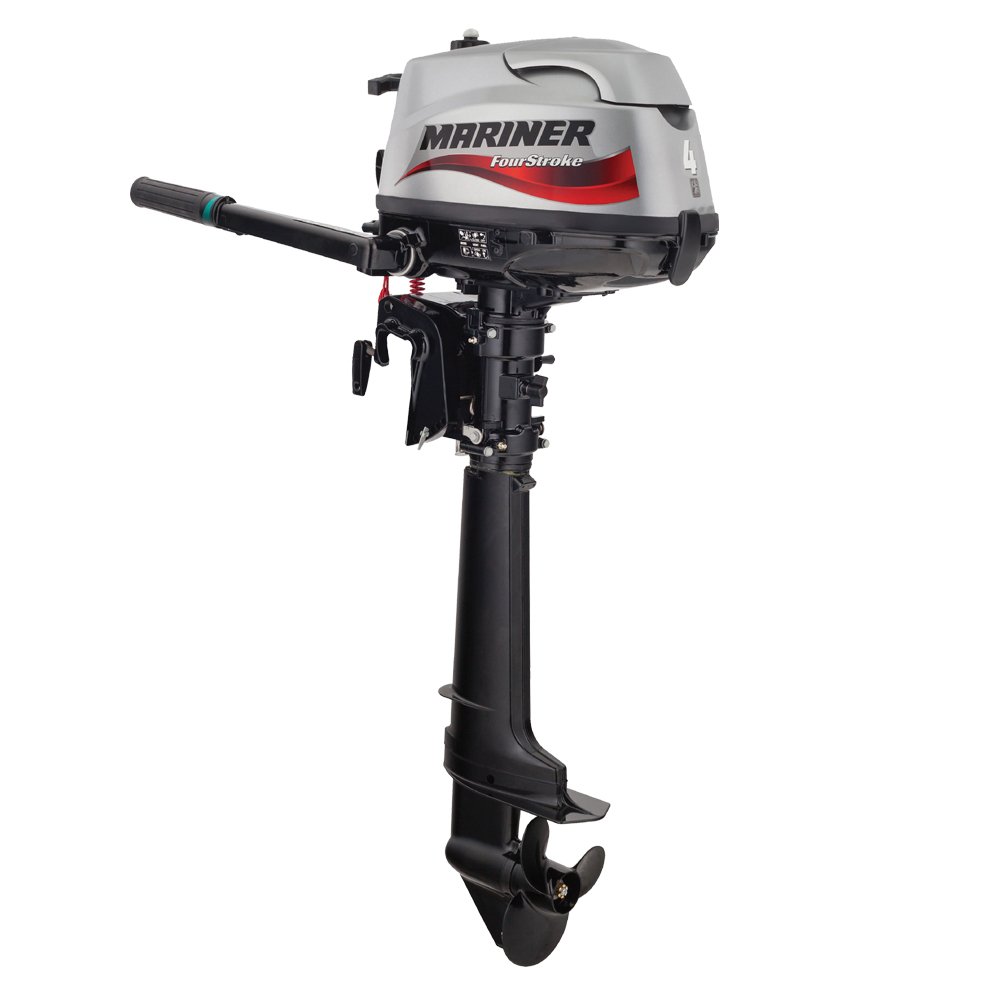 4-Stroke 4hp Long Shaft Outboard Engine
