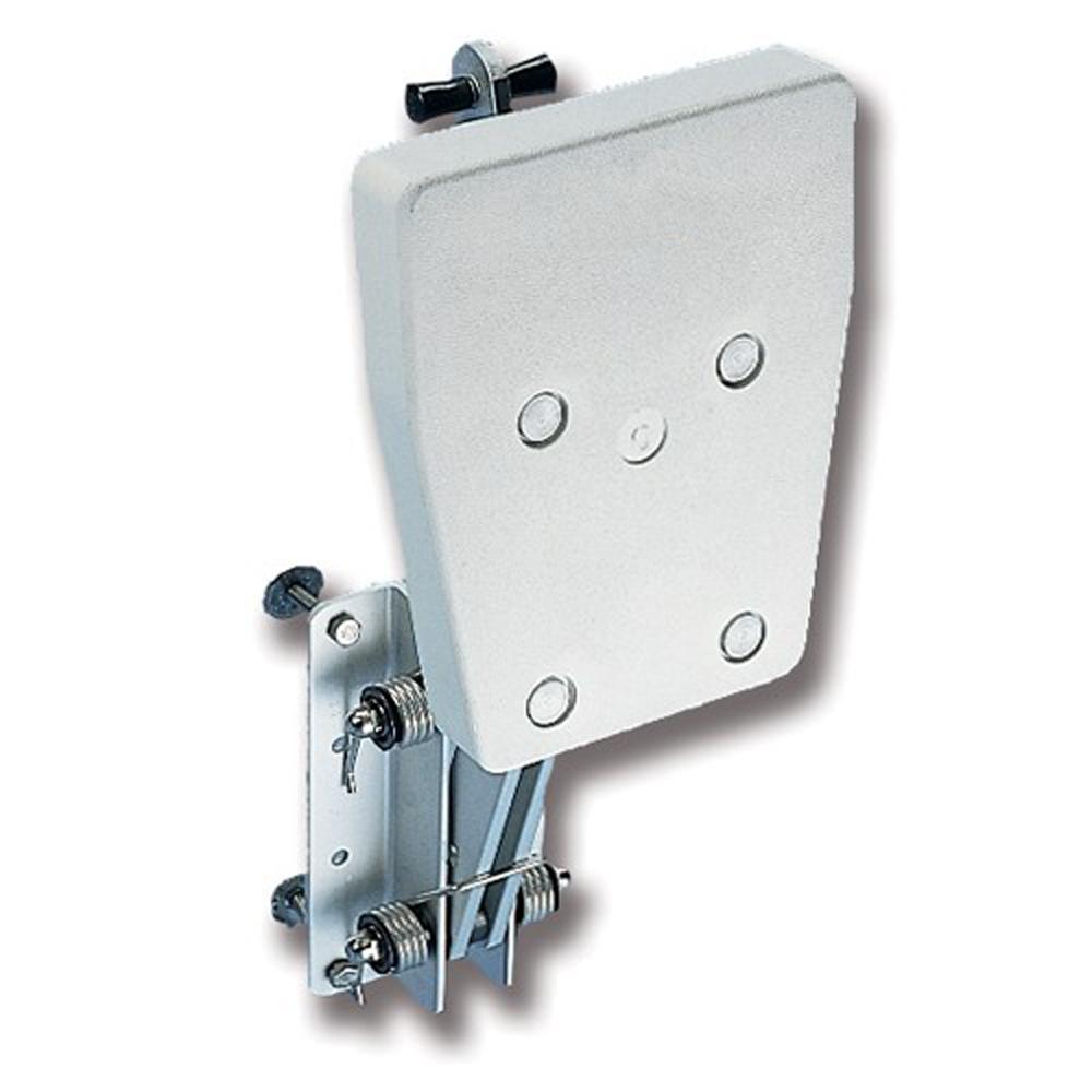 Aluminium Outboard Motor Bracket - Plastic Pad - upto 8HP