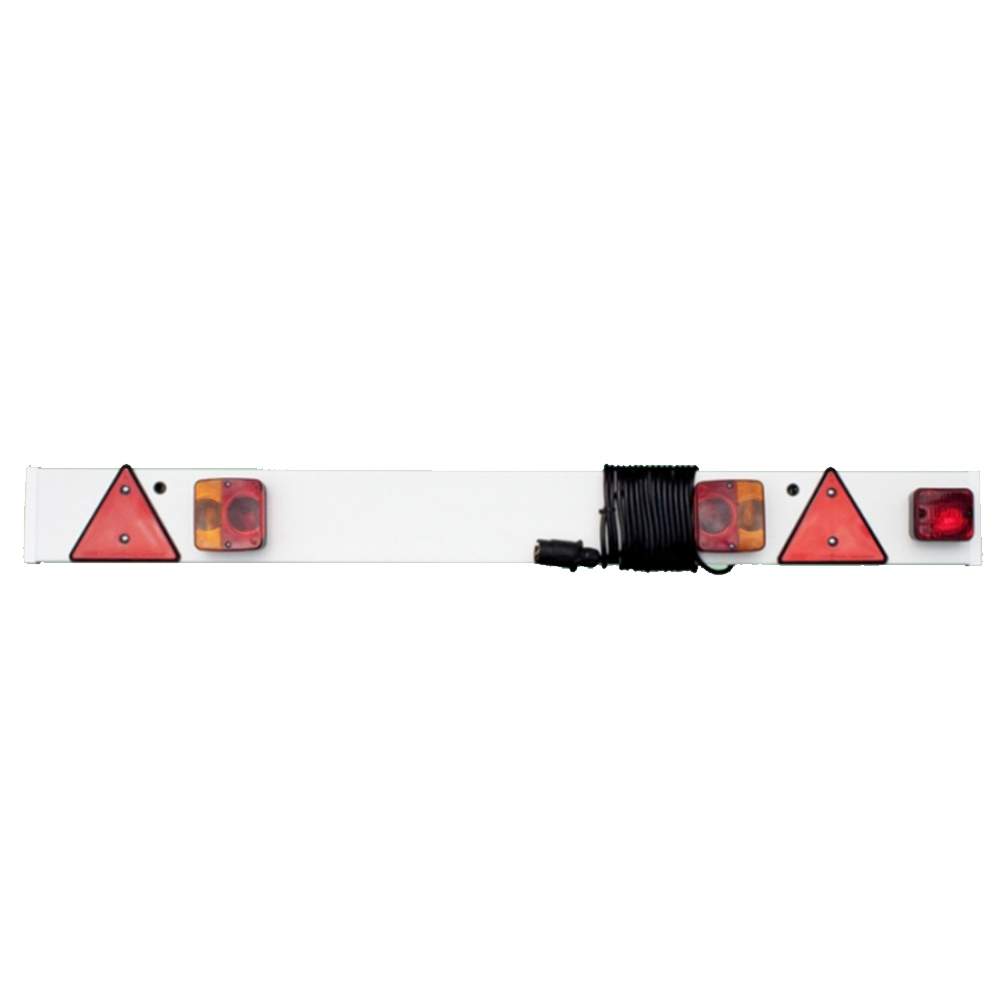 Trailer Board 140cm with Fog Lamp & 6m Cable