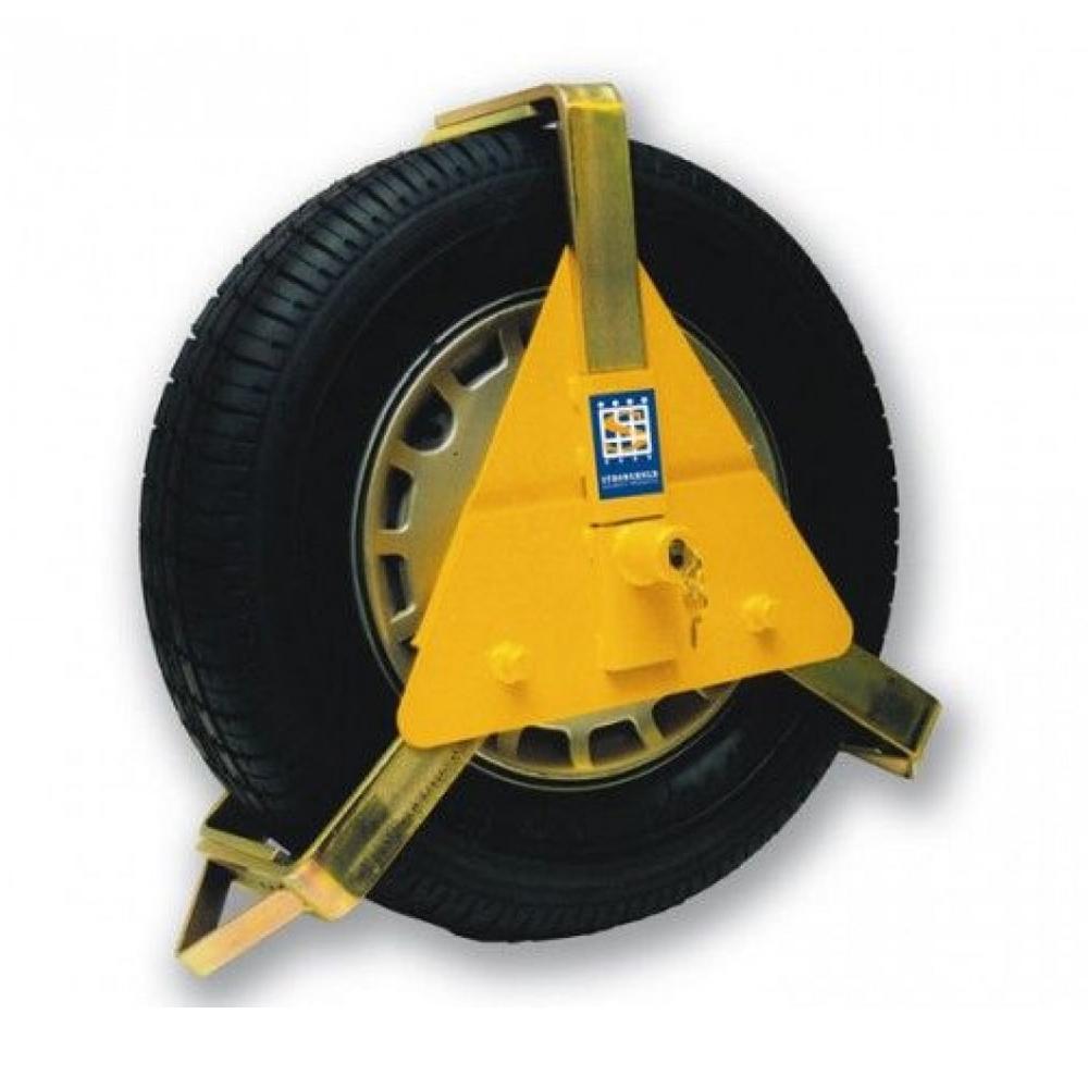 Stronghold Triangular Wheel Clamp