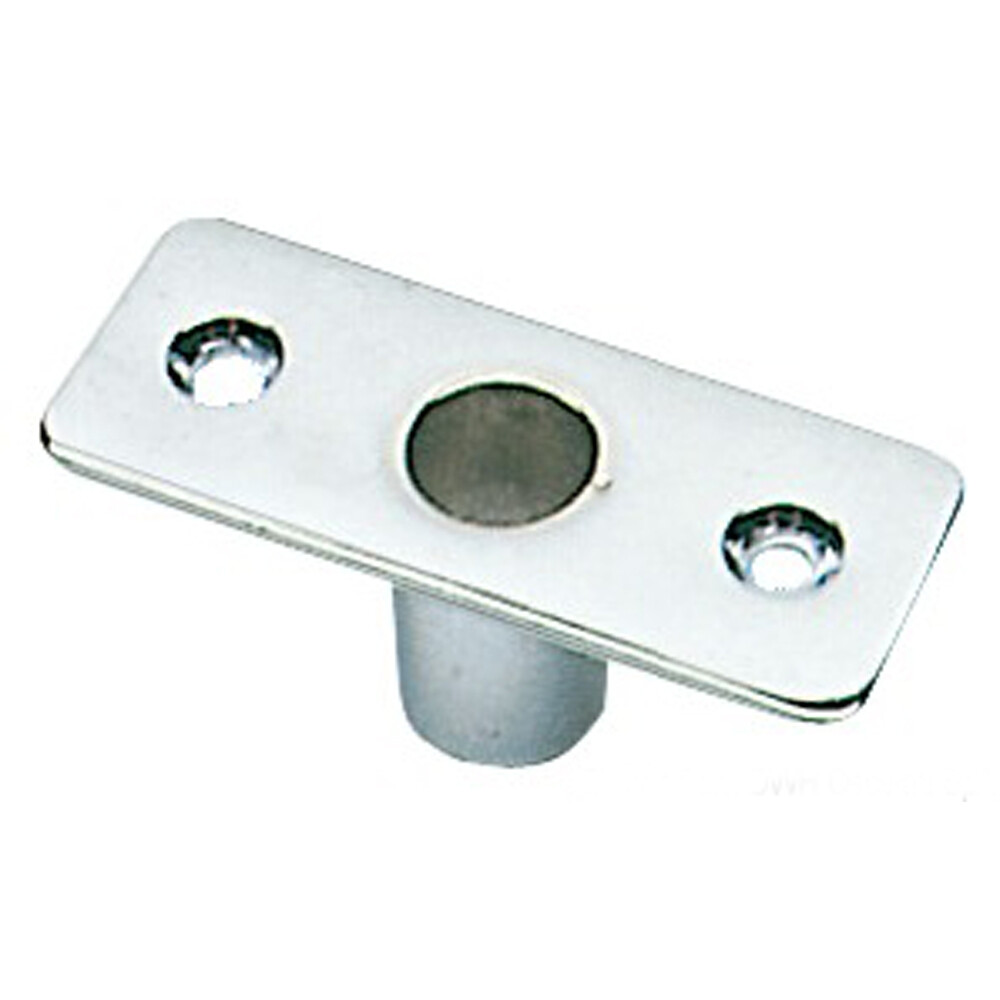 Top Mount Rowlock Socket - Chromed Brass