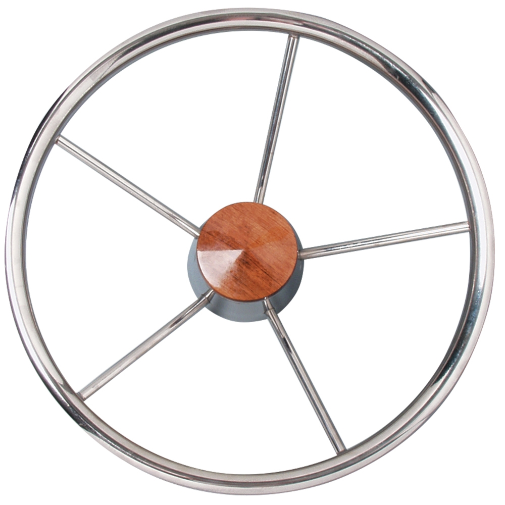 Stainless Steel Steering Wheel 345mm