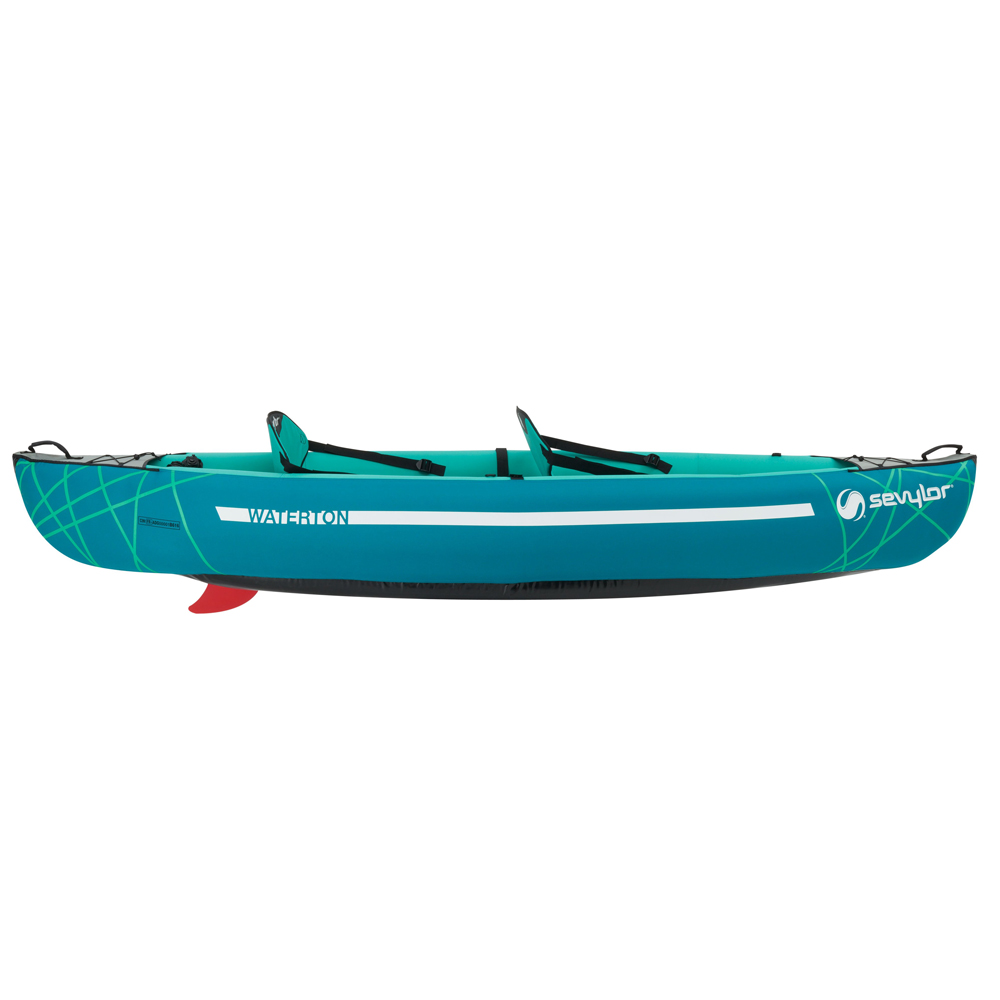 Waterton Inflatable Canoe inc 2 Paddles