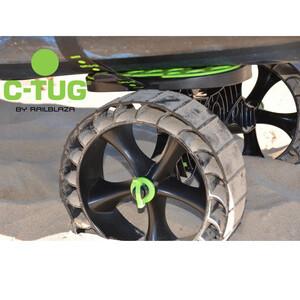 C-Tug Kayak Cart with Puncture-Free SandTrakz Whee