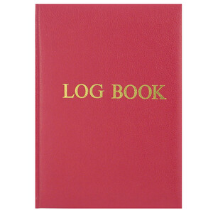 Logbook (Red Cover)