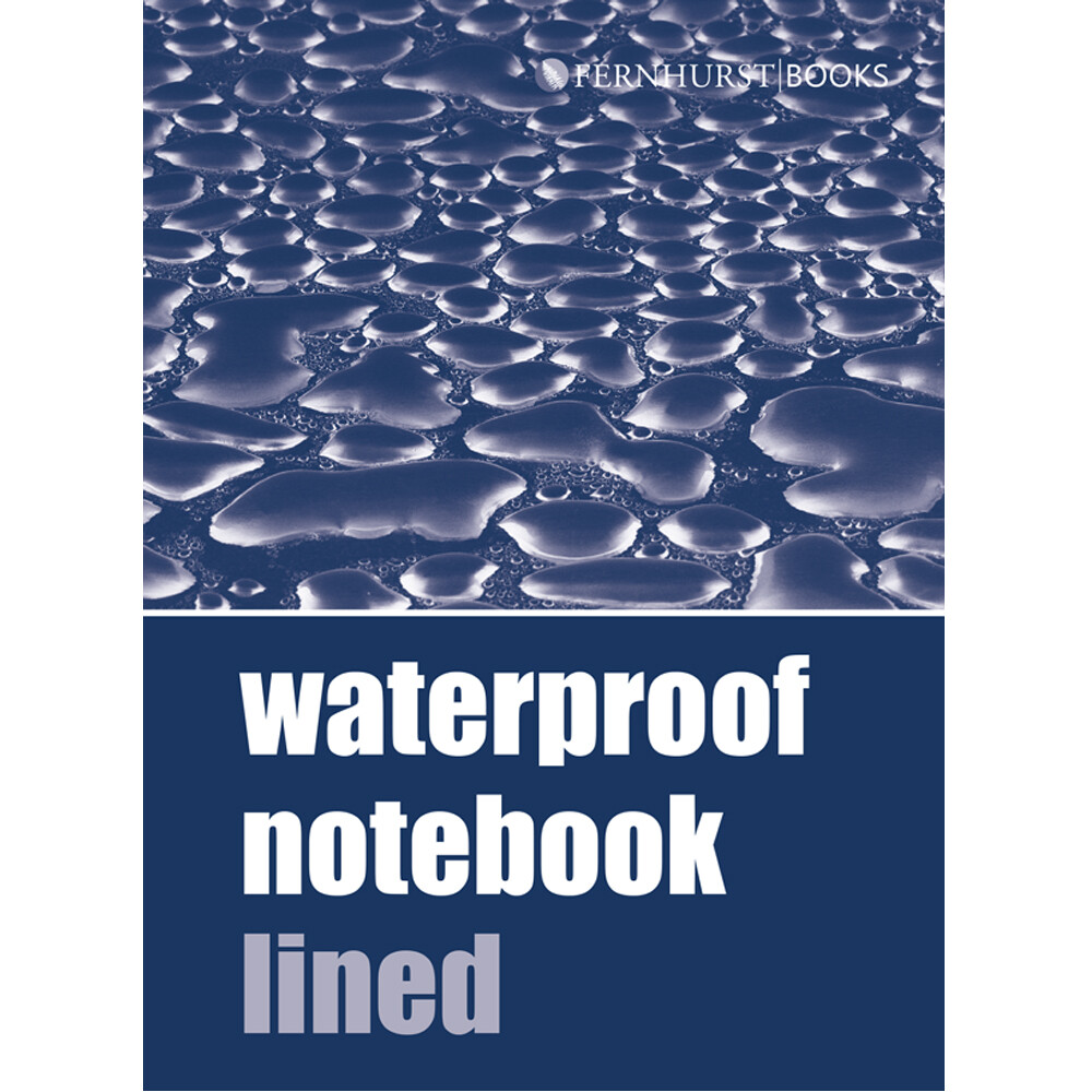 Waterproof Notebook - Lined