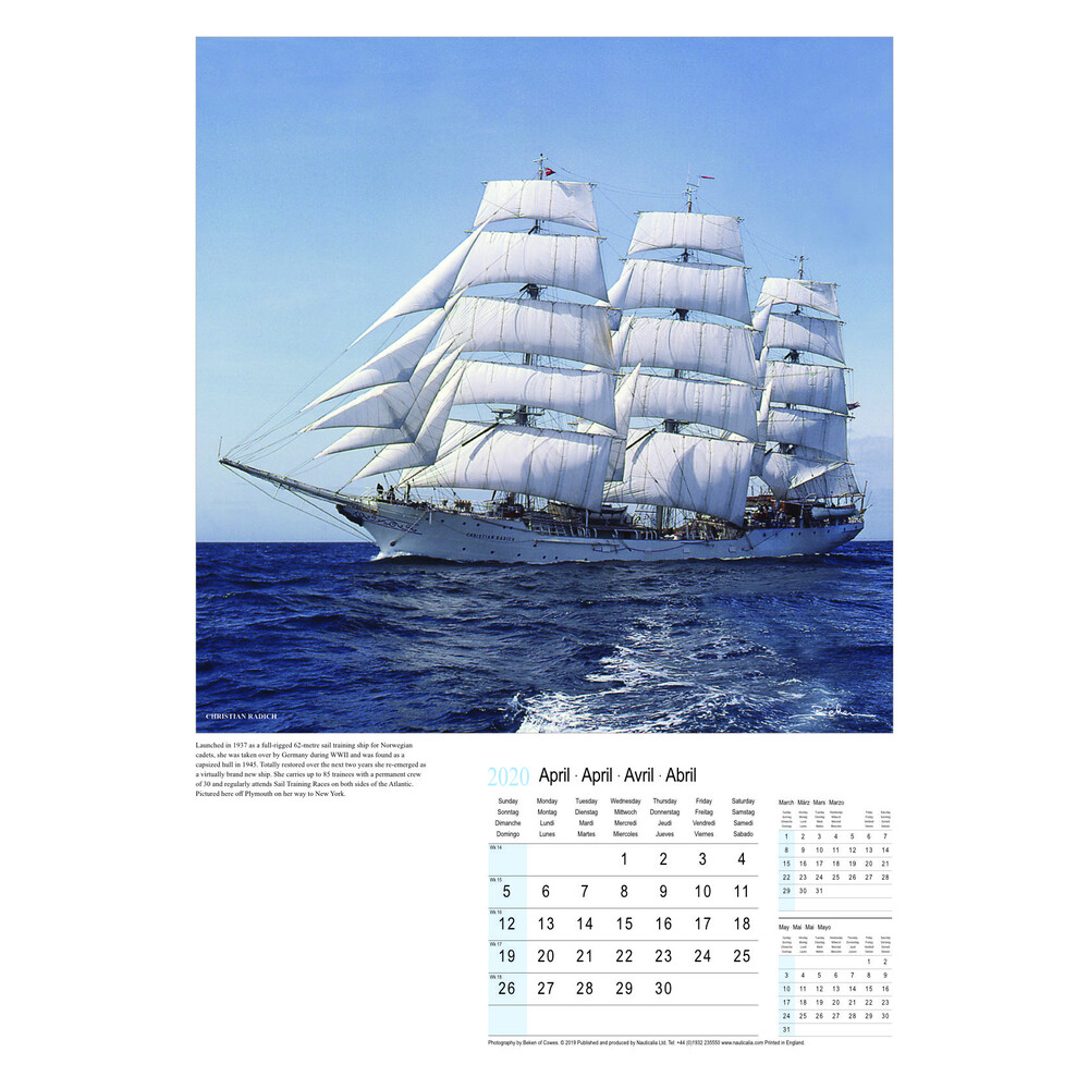 Calendar - Beauty of Sail