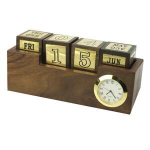 Desk Clock & Calendar