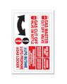 Sticker - Gas Master Cut Off