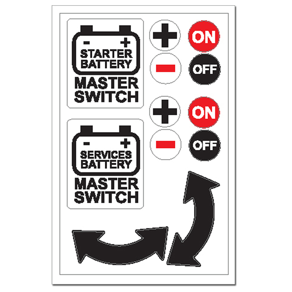 Sticker - Battery Master Switch