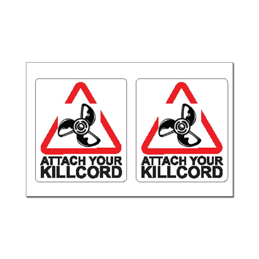Sticker - Attach Your Killcord